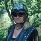 Shirley, A Real Biker Boomer Babe!
